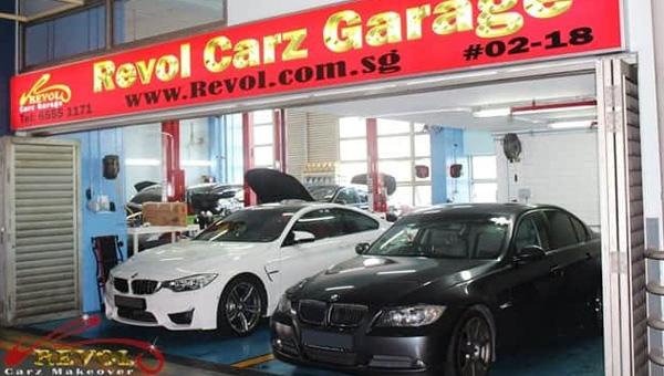 Revol Carz Garage