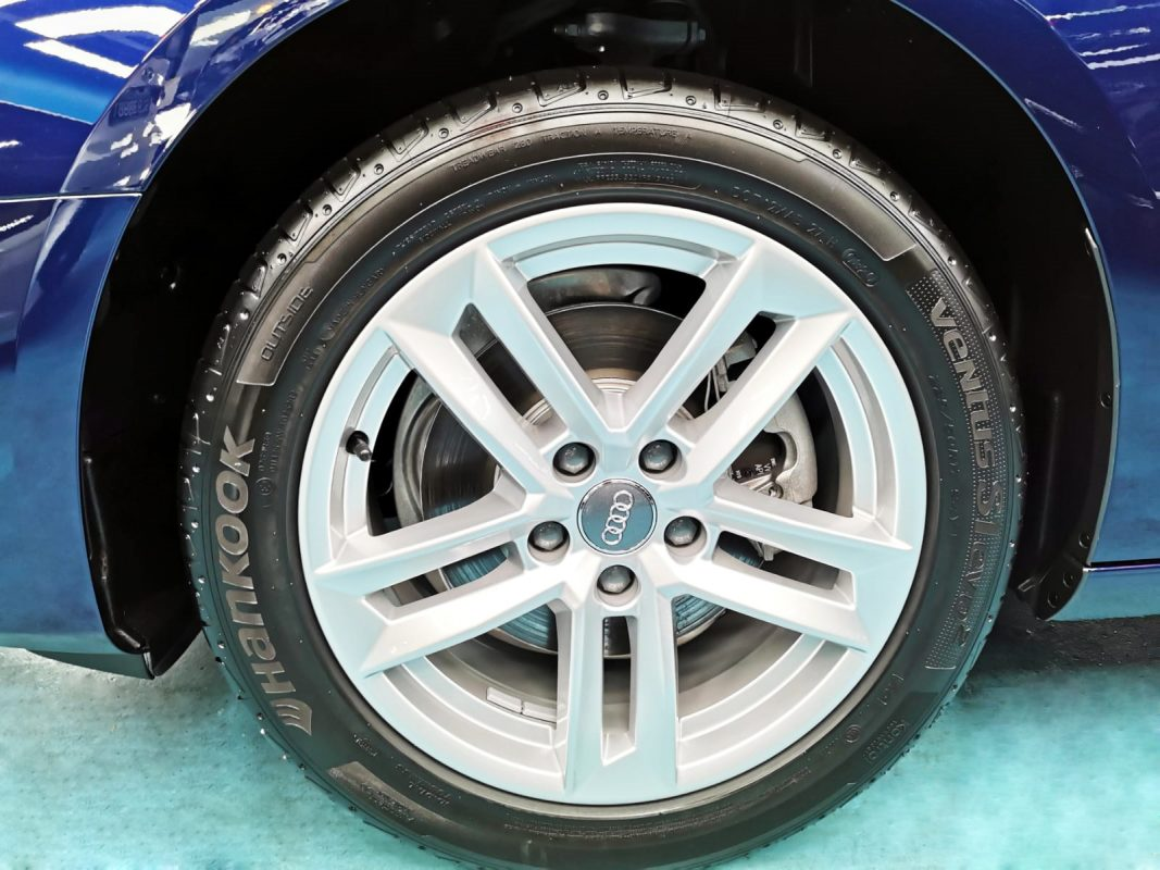 Shining Audi A4 - rims