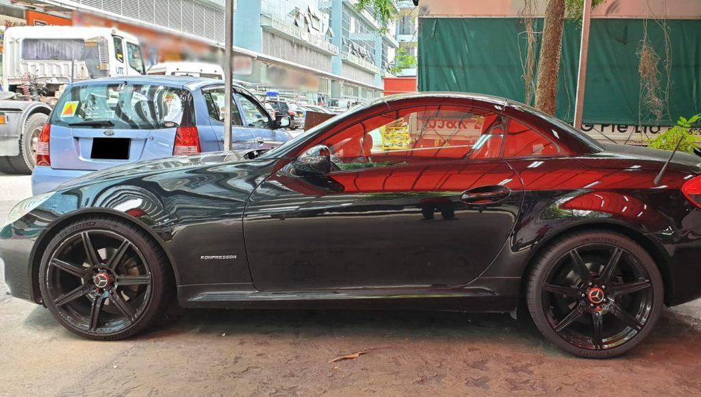 Full repair Mercedes Benz SLK200