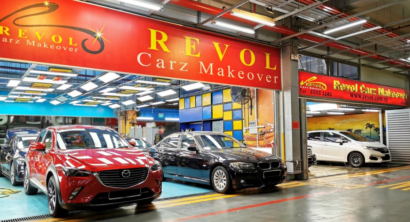 Showroom Condition for your car is Revol's Ultimate Goal!