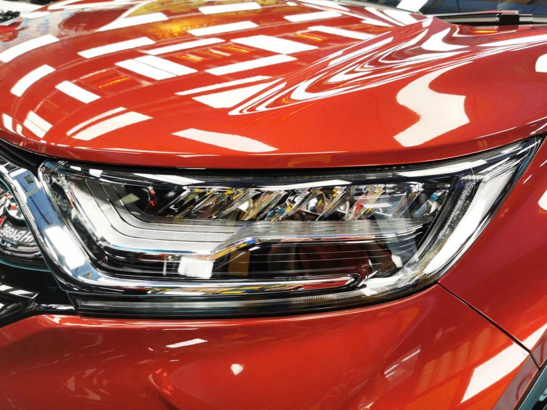 Dashing Honda CR-V for Zetough Titanium Coating