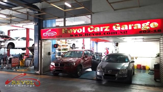 Starting an awesome week at Revol Carz Garage workshop
