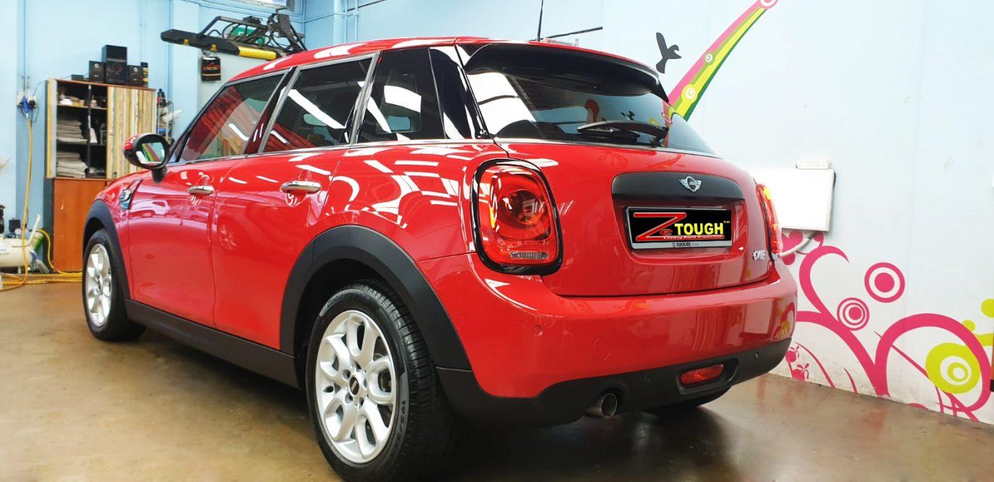 mini one - rear